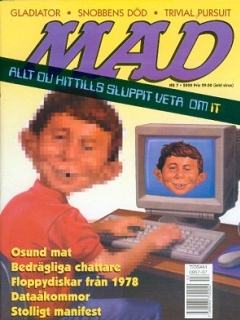 Go to MAD Magazine #7 1999 • Sweden