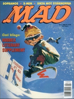 Go to MAD Magazine #8 1999 • Sweden