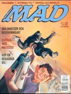 Go to MAD Magazine #1 2000 • Sweden