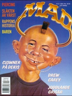 Go to MAD Magazine #2 2000 • Sweden