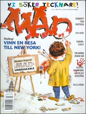 MAD Magazine #336 • Sweden