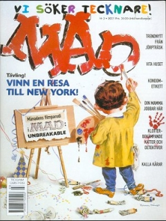 Go to MAD Magazine #3 2000 • Sweden