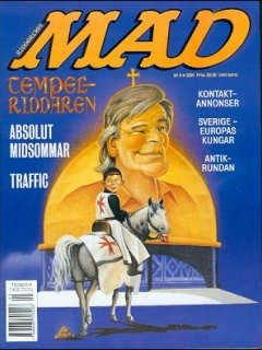 Go to MAD Magazine #5 2000 • Sweden