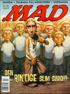 Go to MAD Magazine #6 2000 • Sweden