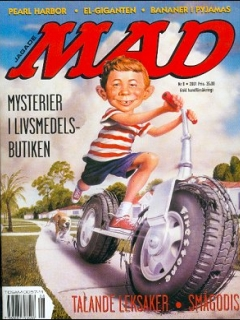 Go to MAD Magazine #8 2000 • Sweden
