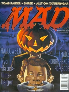 Go to MAD Magazine #9 2000 • Sweden