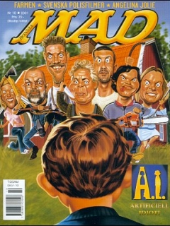 Go to MAD Magazine #10 2000 • Sweden