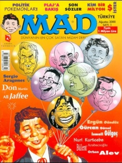 Go to MAD Magazine #1 • Turkey