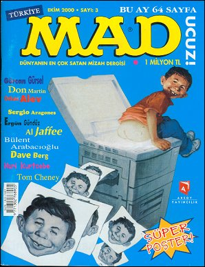 MAD Magazine #3 • Turkey