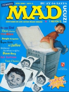 Go to MAD Magazine #3 • Turkey