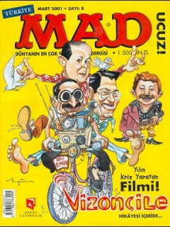 Go to MAD Magazine #8 • Turkey