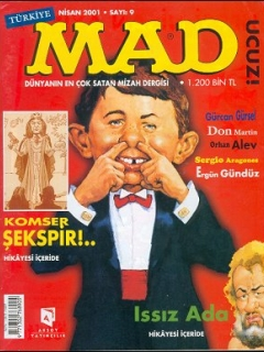 Go to MAD Magazine #9 • Turkey