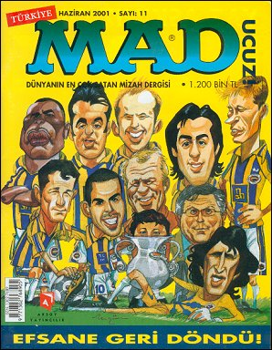 MAD Magazine #11 • Turkey