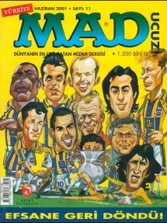 MAD Magazine • Turkey • 1st Edition