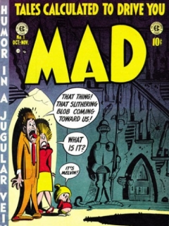 Go to MAD Magazine #1 • USA • 1st Edition - New York