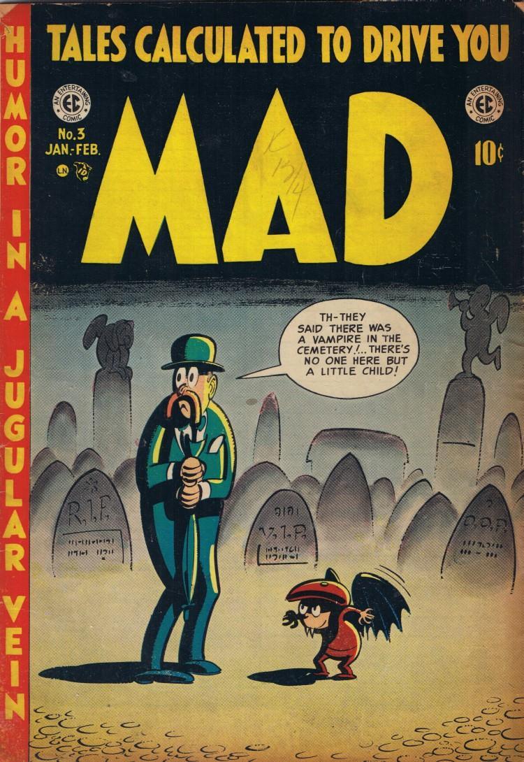 MAD Magazine #3 • USA • 1st Edition - New York