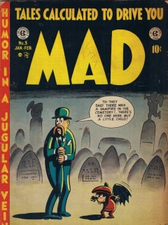 Go to MAD Magazine #3 • USA • 1st Edition - New York