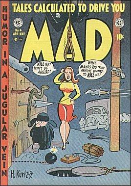 MAD Magazine #4 • USA • 1st Edition - New York