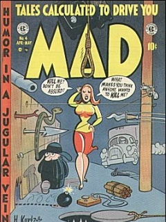 Go to MAD Magazine #4 • USA • 1st Edition - New York