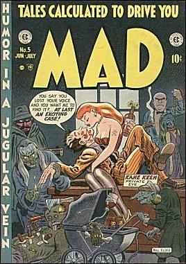 MAD Magazine #5 • USA • 1st Edition - New York