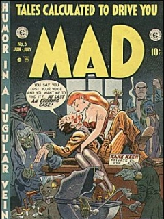 Go to MAD Magazine #5 • USA • 1st Edition - New York