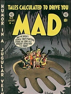 Go to MAD Magazine #6 • USA • 1st Edition - New York