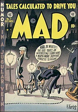 MAD Magazine #7 • USA • 1st Edition - New York
