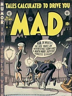 Go to MAD Magazine #7 • USA • 1st Edition - New York