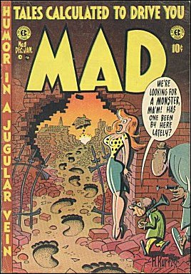 MAD Magazine #8 • USA • 1st Edition - New York