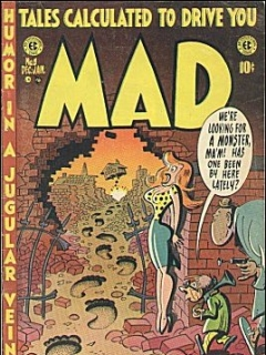 Go to MAD Magazine #8 • USA • 1st Edition - New York