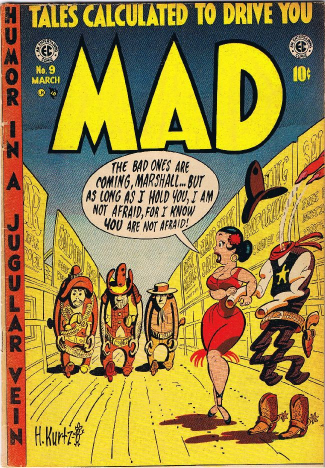 MAD Magazine #9 • USA • 1st Edition - New York