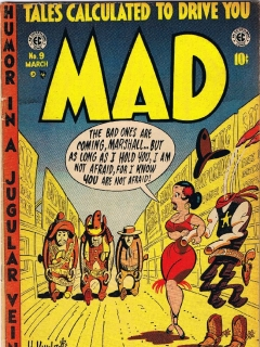 Go to MAD Magazine #9 • USA • 1st Edition - New York