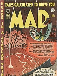 Go to MAD Magazine #10 • USA • 1st Edition - New York