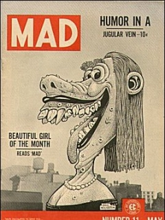 Go to MAD Magazine #11 • USA • 1st Edition - New York