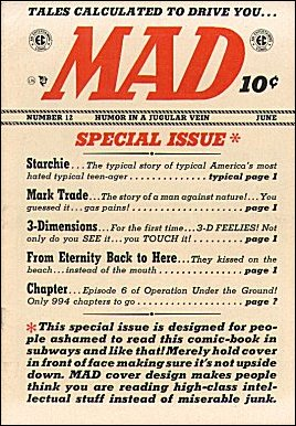 MAD Magazine #12 • USA • 1st Edition - New York