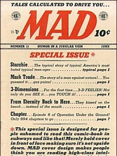 Go to MAD Magazine #12 • USA • 1st Edition - New York
