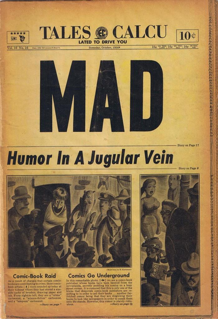 MAD Magazine #16 • USA • 1st Edition - New York