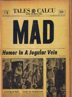 Go to MAD Magazine #16 • USA • 1st Edition - New York