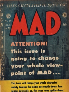 Go to MAD Magazine #17 • USA • 1st Edition - New York