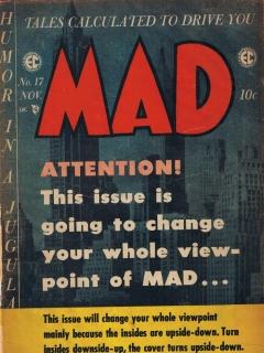 MAD Magazine #17 • USA • 1st Edition - New York