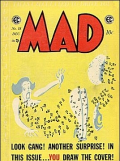Go to MAD Magazine #18 • USA • 1st Edition - New York