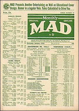MAD Magazine #19 • USA • 1st Edition - New York
