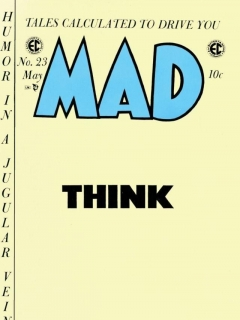 Go to MAD Magazine #23 • USA • 1st Edition - New York