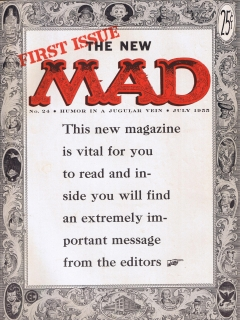 MAD Magazine #24 • USA • 1st Edition - New York