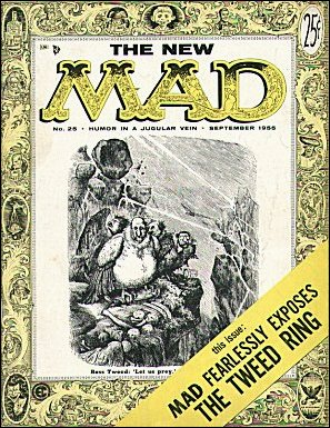 MAD Magazine #25 • USA • 1st Edition - New York