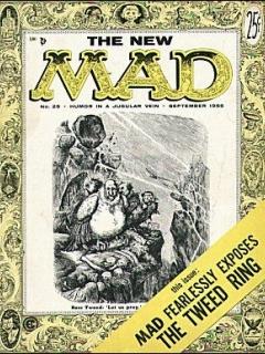 MAD Magazine #25 • USA • 1st Edition - New York