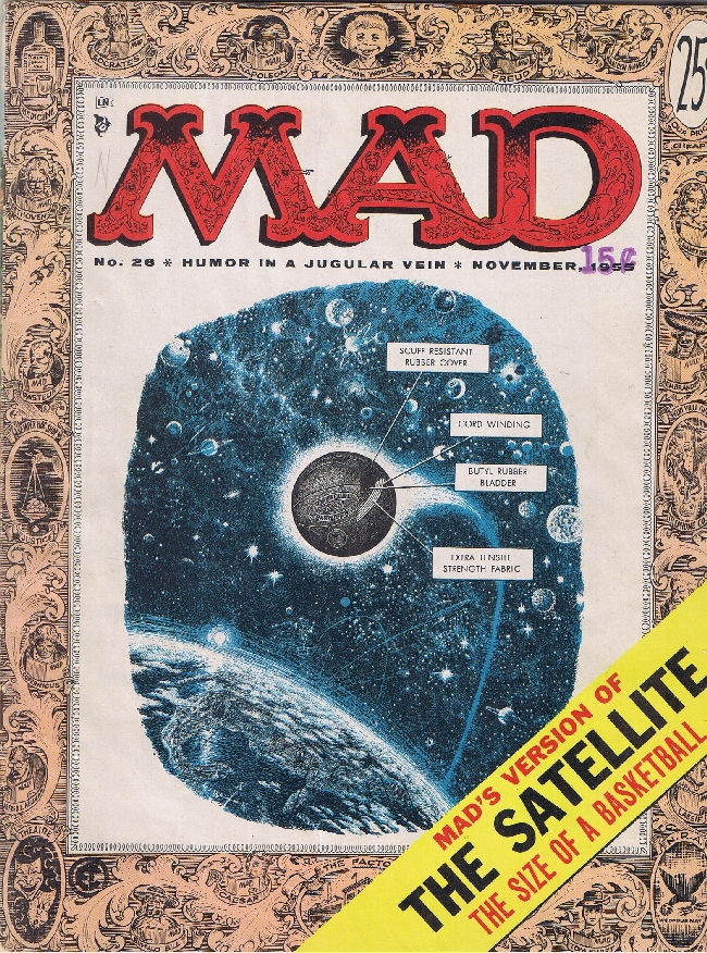 MAD Magazine #26 • USA • 1st Edition - New York