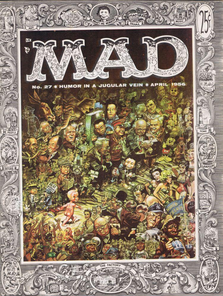 MAD Magazine #27 • USA • 1st Edition - New York