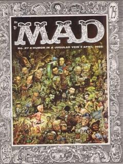 MAD Magazine #27 • USA • 1st Edition - New York
