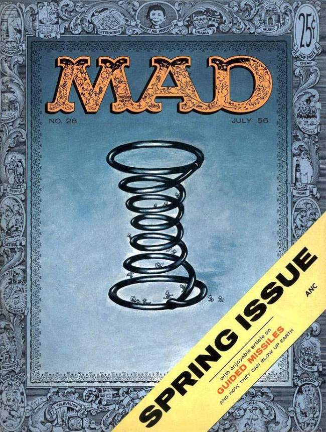MAD Magazine #28 • USA • 1st Edition - New York